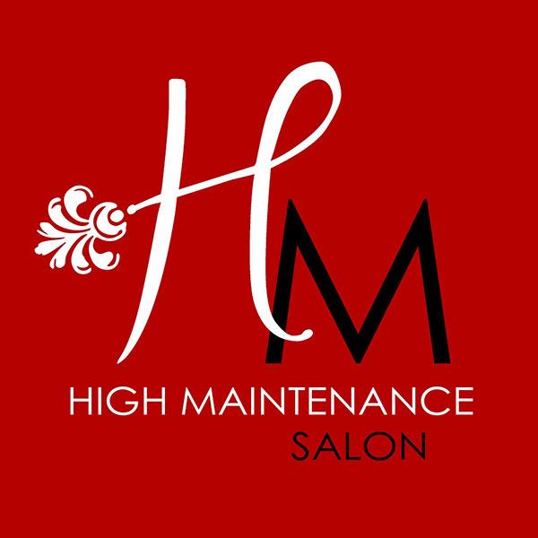 high maintenance marshall salon logo